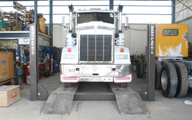 BendPak Freight Liner Four-Post Lift