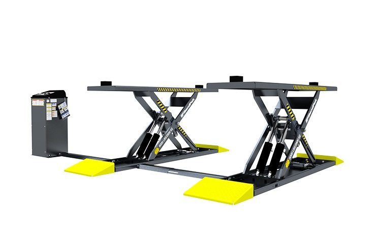 BendPak Mid-Rise Lift with Extended Platforms