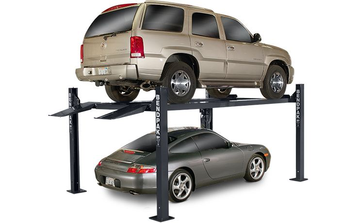 HD-7 Series Four-Post Lifts by BendPak