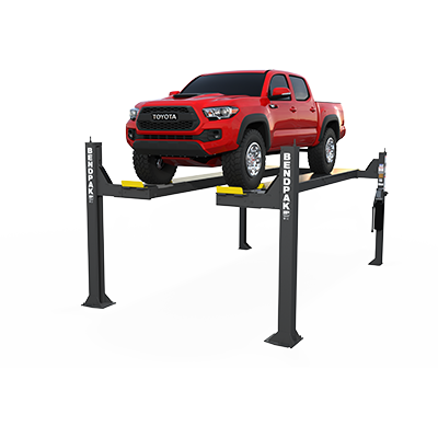 HDSO14AX Four-Post Open-Front Alignment Lift by BendPak