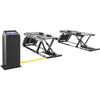 P-9000F Flush-Mounted Pit Lift by BendPak