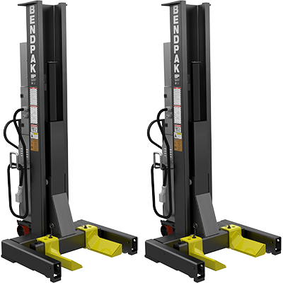 Set of 2 Mobile Column Lifts from BendPak