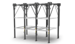 PL-14000 Triple Stacker Parking Lift Platforms  auto stacker parking car lift