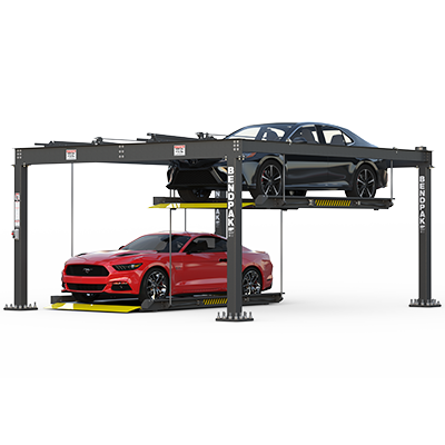 Tandem Parking Lift with Independent Platforms by BendPak