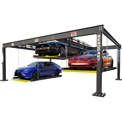 Triple-Wide Parking Lift Platform Lift by BendPak