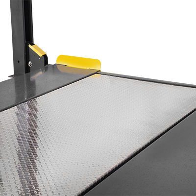 Solid Aluminum Deck Platform for 4-Post Lifts by BendPak