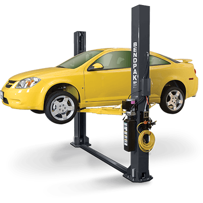 Bendpak Xpr 9 >> Xpr 9s Two Post Lift Floorplate Bendpak