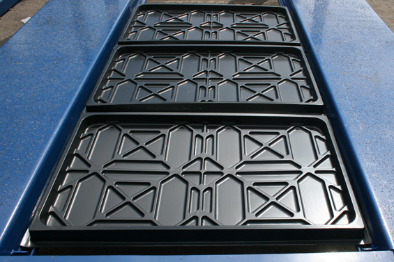 Polypropylene Drip Trays for Four-Post Car Lifts