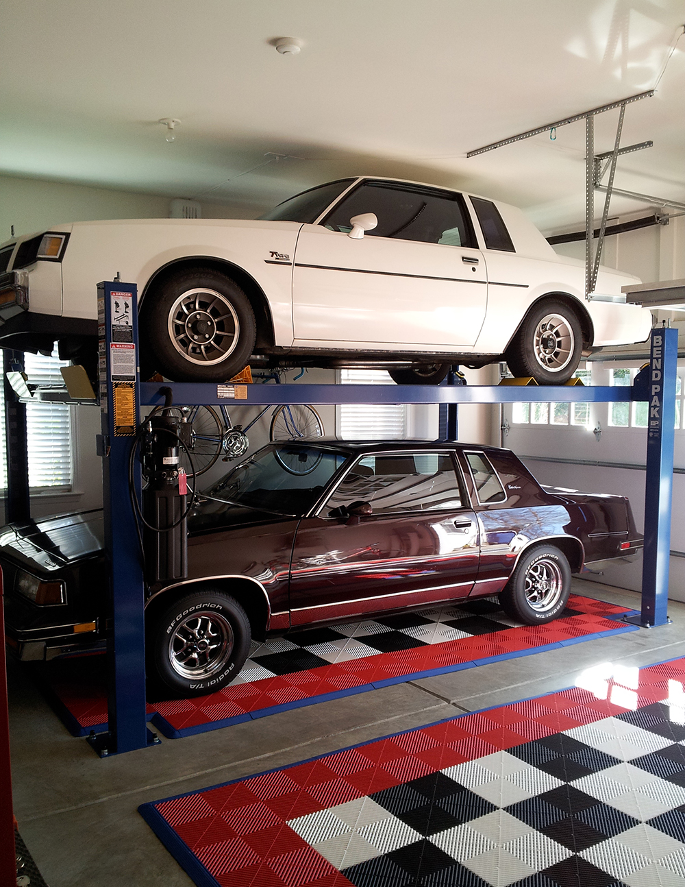 Ase deals 2 post car lifts autos post for Residential garage car lift