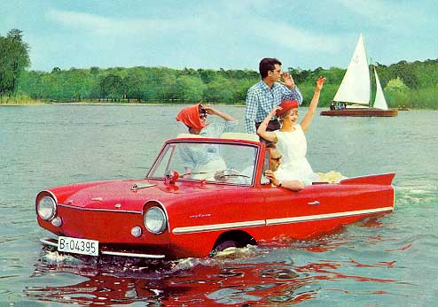 vintage_amphicar_in_water