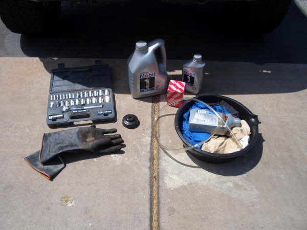 Your complete oil change assembly kit
