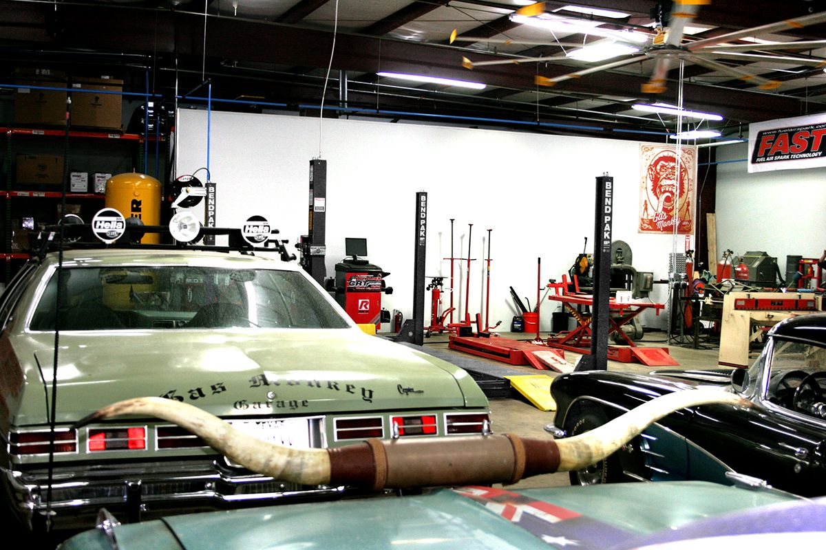 BendPak Lifts Gas Monkey Garage