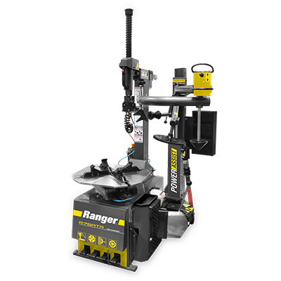 R76ATR Tire Changer / Tilt-Back / Right-Tower Single Assist / 30 Capacity