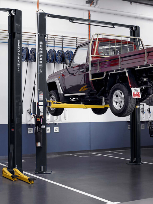 Truck Two-Post Lift