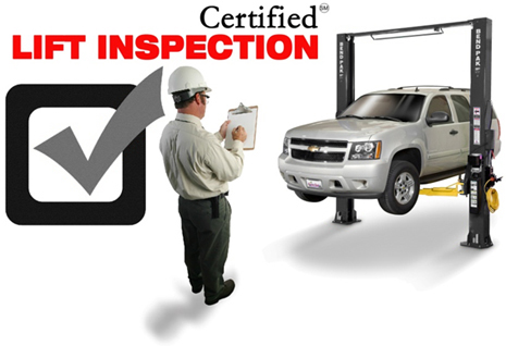 BendPak Car Lift Inspection Program