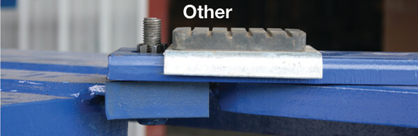 Mid-Rise Car Lift Screw Height vs. Pad Height
