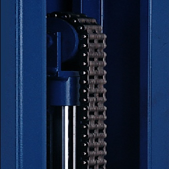 Two-Post Lift with Rolling Chain