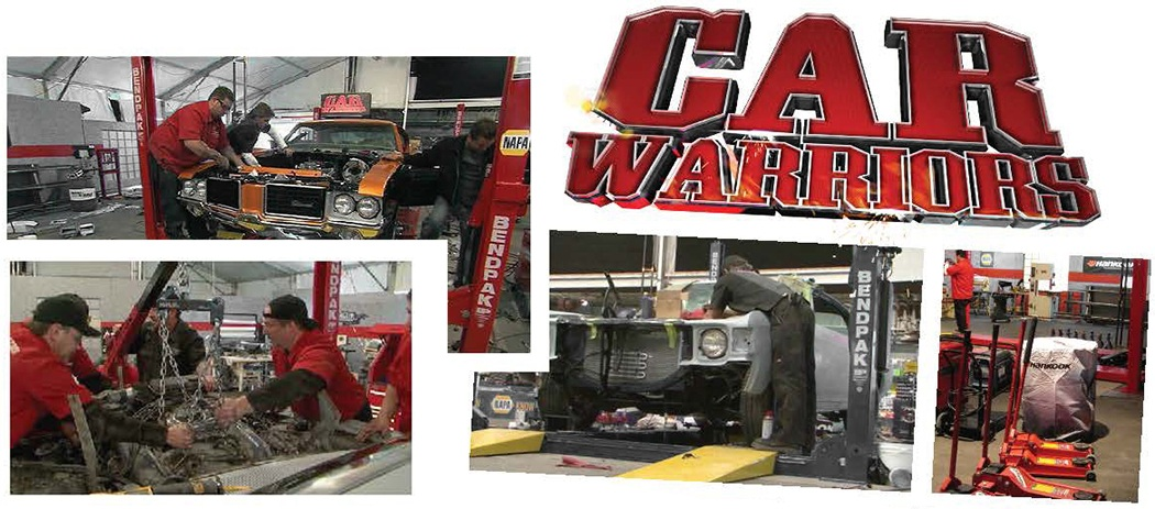 Car Warriors TV Show BendPak