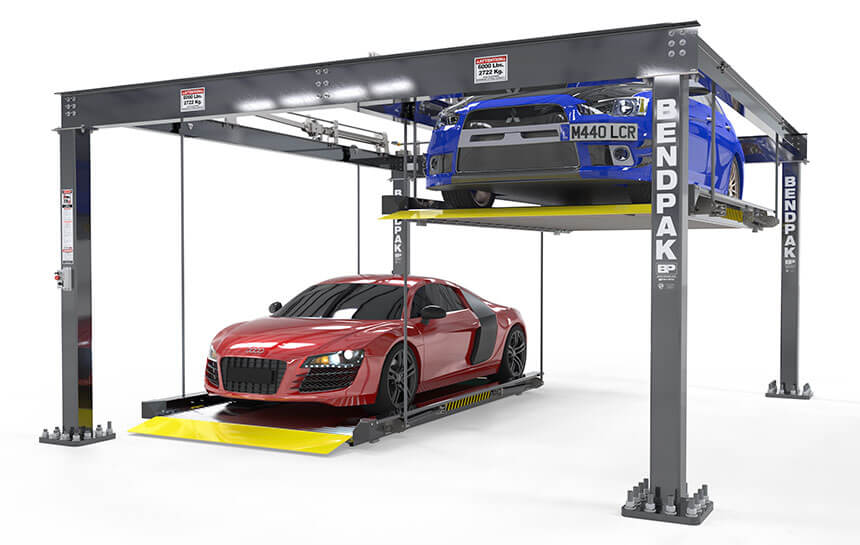 Puzzle Parking Lift by BendPak