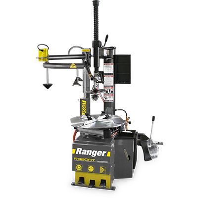 R980AT Tire Changer / Swing Arm / Single-Tower Assist / 30 Capacity