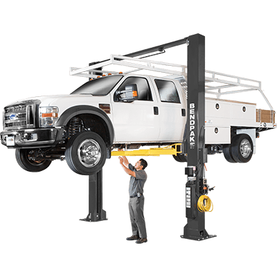 XPR-18CL 18,000-lb. Capacity / Two-Post Lift / Clearfloor / Standard Arms