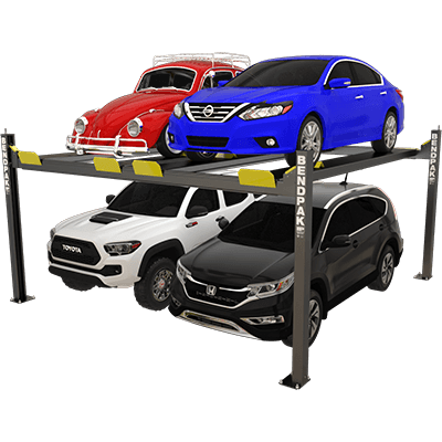 HD-9SW 9,000-lb. Capacity / Super-Wide Car Stacker Parking Lift