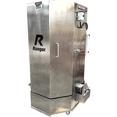 RS-750DS Stainless-Steel  Spray Wash Cabinet / Heavy-Duty Truck Dual-Heaters / Low-Water Shutoff
