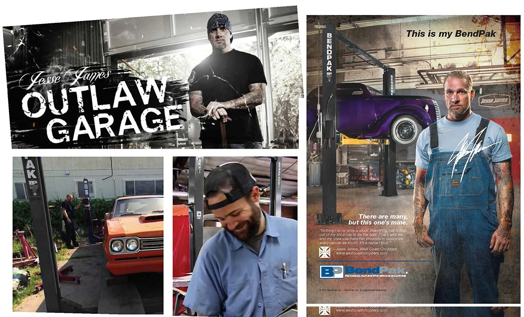 Jesse James Outlaw Garage