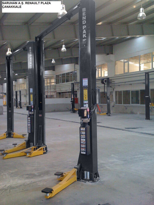 Two-Post Lifts for Dealerships