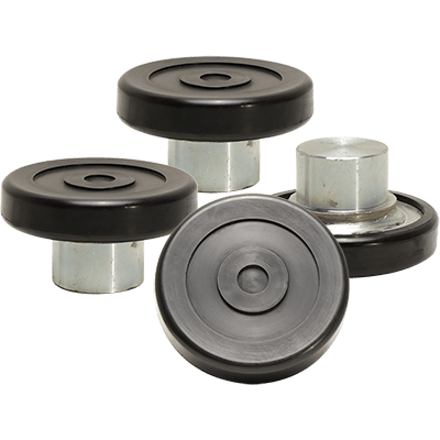 Lift Pad Assembly (60 mm) Lift Pad Assembly / 60 mm Pin and Polyurethane Tuf-Pad / SET OF 4