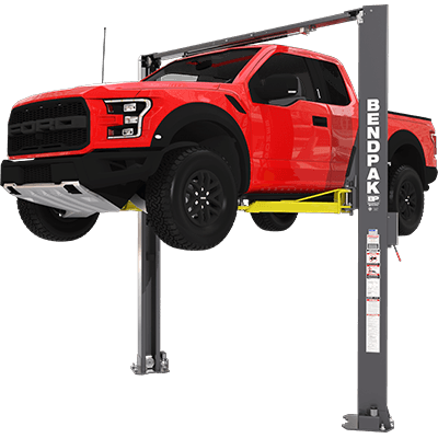 XPR-10AXLS 10,000-lb. Capacity / Two-Post Lift / Asymmetric Clearfloor / Extra Tall