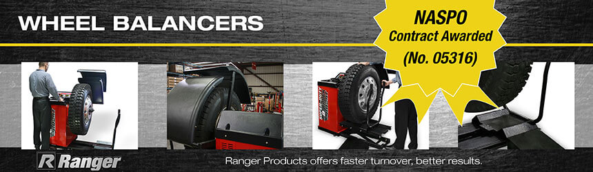 NASPO Wheel Balancers from Ranger Products