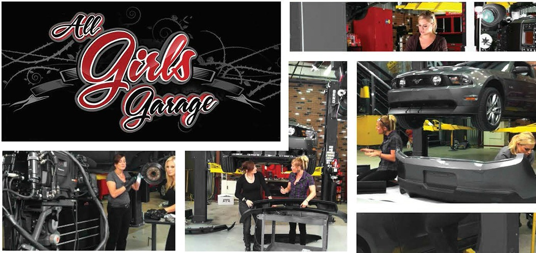 All Girls Garage TV Show