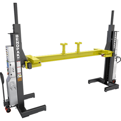 PCL-18B Cross Beam Chassis Cross Beam / Includes Stacking Adapter Set / Fits PCL-18B Mobile Column Lifts