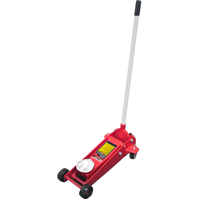 RFJ-3T 3-Ton Floor Jack / Racing Style / Plunger-U-Joint