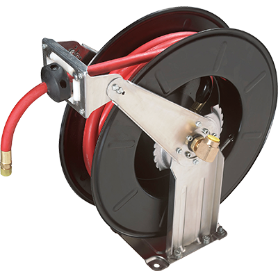 RH-50PL Air Hose Reel with Hose / 50 Feet / 300 PSI