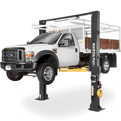XPR-15CL 15,000-lb. Capacity / Two-Post Lift / Clearfloor / Standard Arms