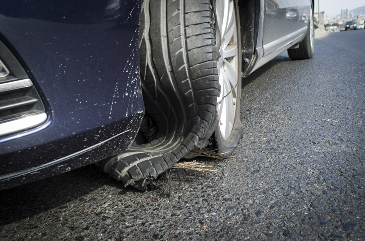 You risk more than a flat tire without a wheel alignment