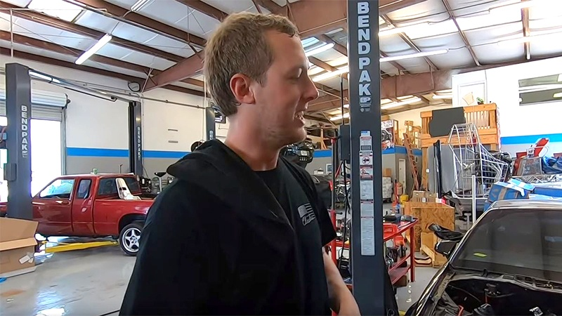Cleetus McFarland on YouTube uses BendPak car lifts