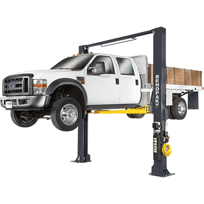 XPR-12CL 12,000-lb. Capacity / Two-Post Lift / Clearfloor / Triple-Telescoping Arms