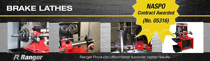 NASPO Brake Lathes from Ranger Products