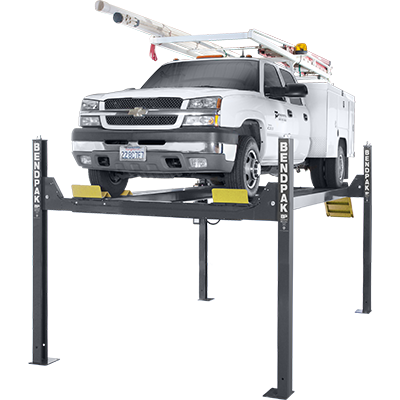 "HD-14T 14,000-lb. Capacity / Four-Post Lift / Tall Lift / 82"" Rise"