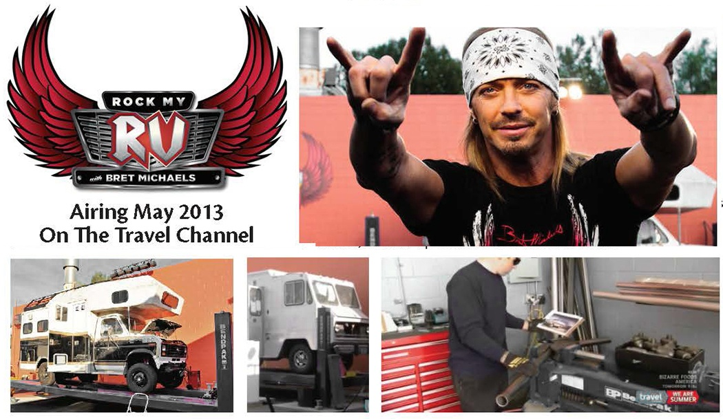 Rock My RV Bret Michaels TV Show